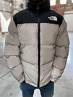 Пуховик зимний Supreme x The North Face Nuptse 700 Refliktive - М, L, XL, XXL