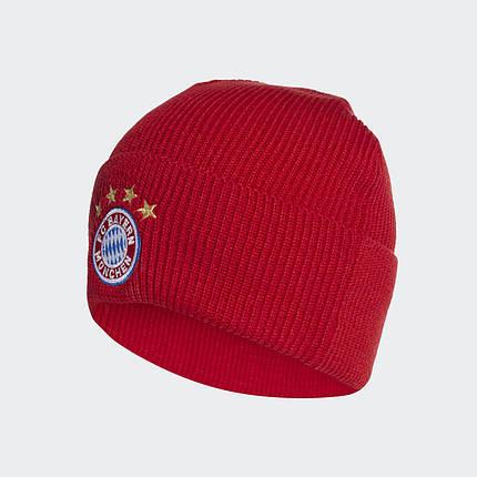 Шапка  adidas FC Bayern Beanie FS0192 Красный, фото 2
