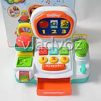 Игрушка детская касса игрушечная набор магазин игровая с сканером keenway