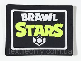 Нашивка Brawl Stars / Бравл Старс салатовый 60х40 мм