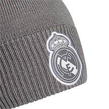 Шапка Adidas Real Madrid Aeroready Beanie FR9746 Серый, фото 3