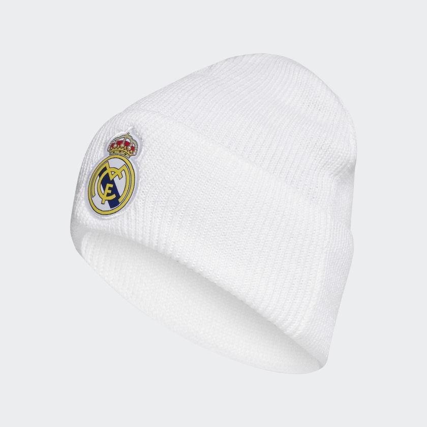 Шапка Adidas Real Madrid Aeroready Beanie FR9745 Белый