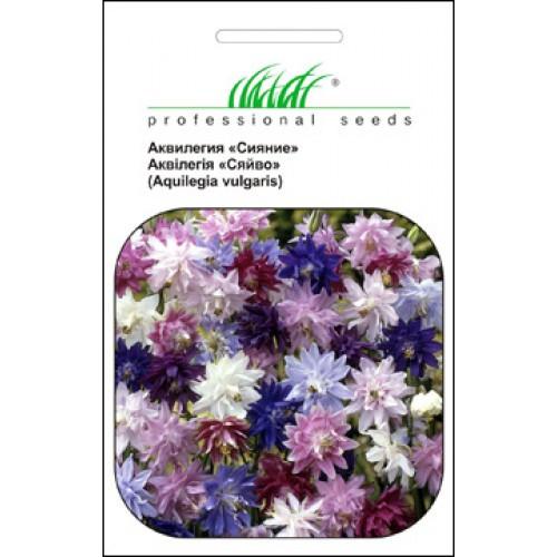 Семена цветов Аквилегия сияние махровая сумиш 0,5 гр. 123651