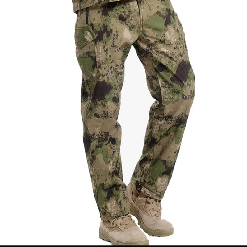 Softshell брюки для туризма и повседневного ношения реплика ESDY Camo