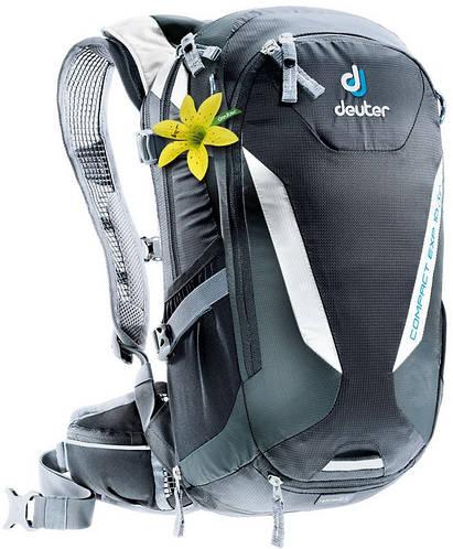 Женский качественный туристический рюкзак DEUTER Compact EXP 10 SL, 3200115 7410 черный