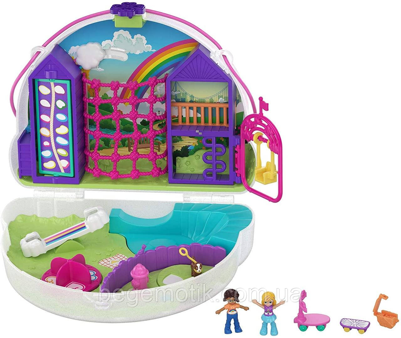 Игровой набор Полли Покет Радуга GKJ65 Polly Pocket Rainbow Dream Purse