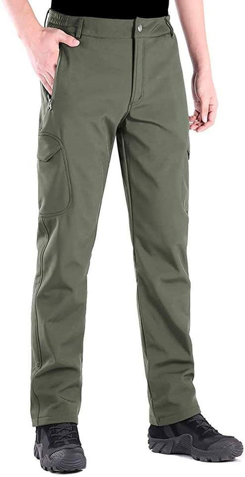 Softshell брюки для туризма и повседневного ношения MilitaryStyle олива