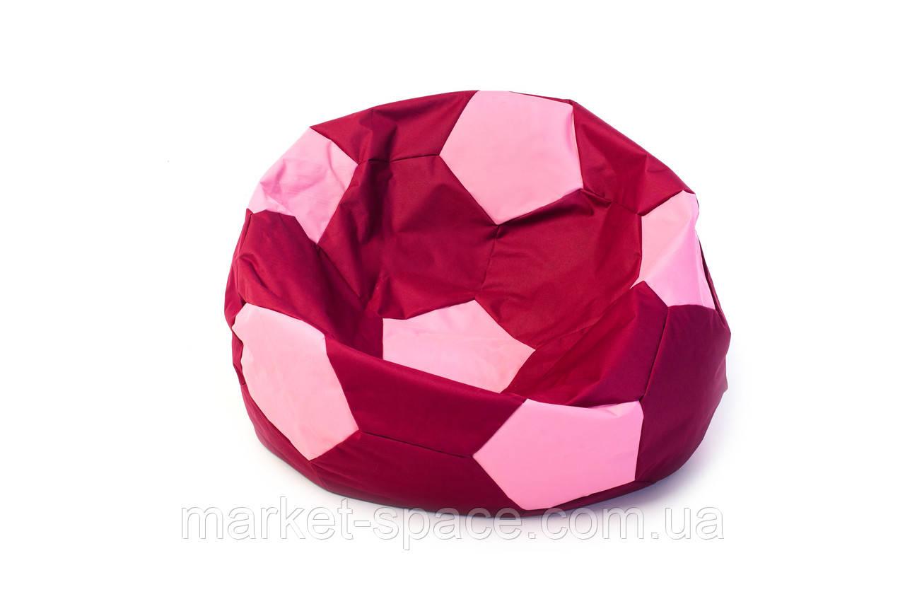 Кресло мяч «BOOM» 60см бордо-розовый