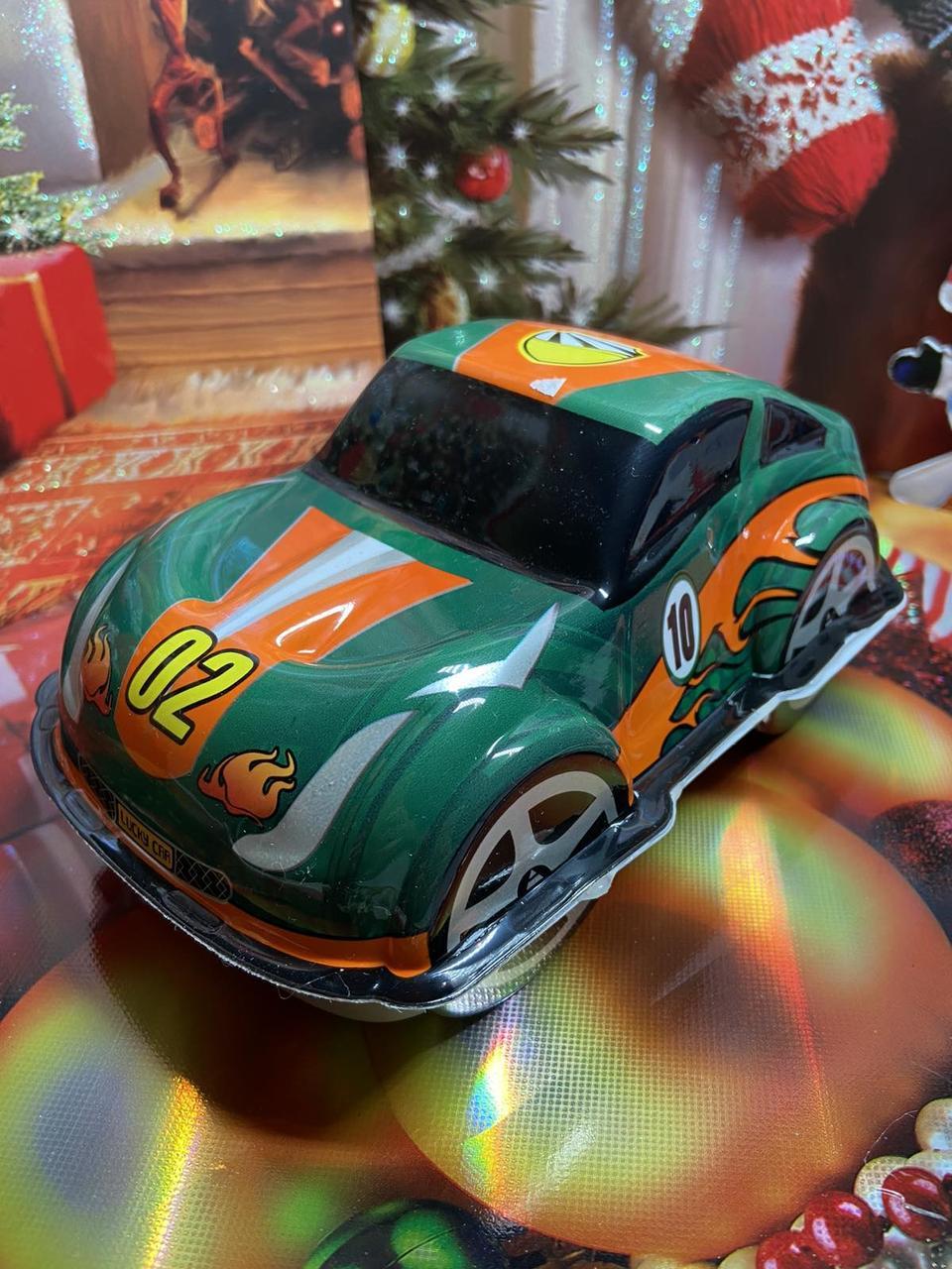Машинка подарункова з солодощами