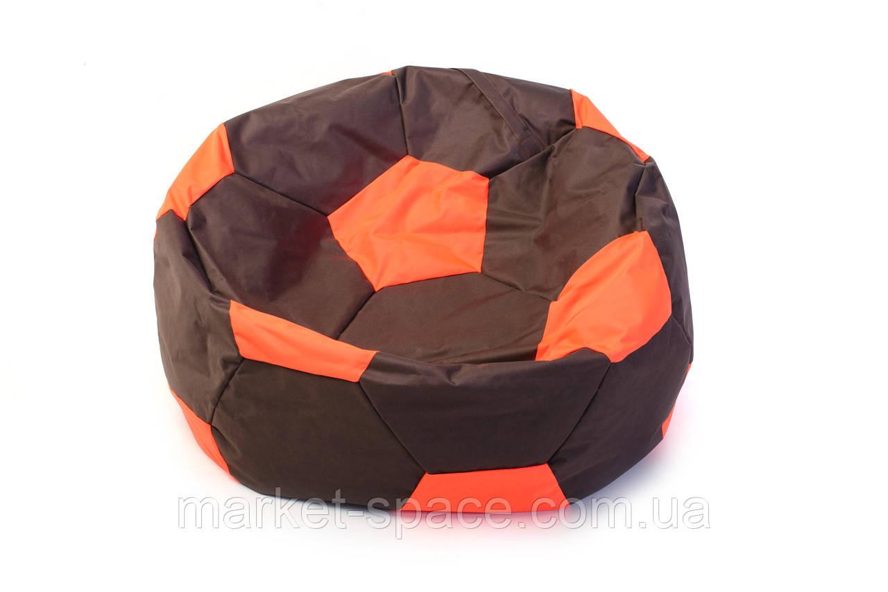 Кресло мяч «BOOM» 60см коричнево-оранжевый
