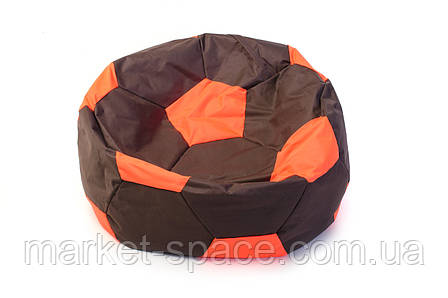 Кресло мяч «BOOM» 60см коричнево-оранжевый, фото 2