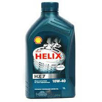 SHELL 10W40 Helix Plus (НХ7) (син.бенз.)  1 л.(шелл)