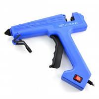 ZD-8C пистолет клеевой под клей 11мм, с кнопкой, 60W Max 280W, в блистере