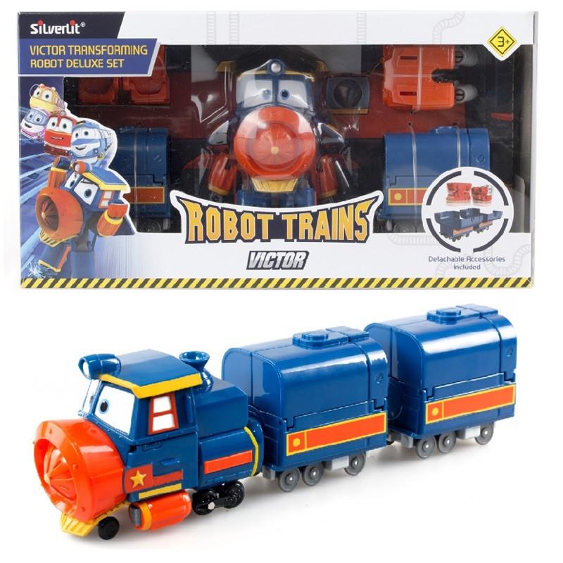 Игровой набор Silverlit Robot Trains Виктор (оригинал)