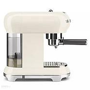 Ріжкова кавоварка еспресо SMEG ECF01CREU, фото 3