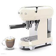 Ріжкова кавоварка еспресо SMEG ECF01CREU, фото 2