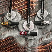 Персональный мундштук Japona Hookah  - Mouth Tip Samurai Cord (а шнурке, япона хука), фото 1