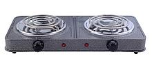 Спиральная электроплита Grunhelm GHP-5813 узкий тэн 2 кВт
