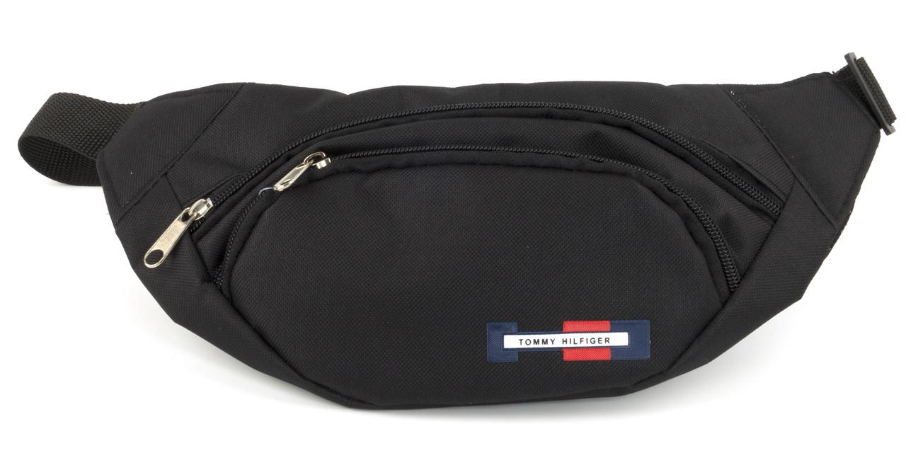 Удобная прочная мужская сумка на пояс art. БАНАНКА 66 синяя Украина