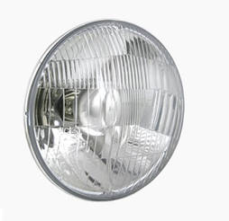 Фара головного світла Ø 144 мм на ВАЗ 2106, 2103 Wesem RE.02707 кругла, ближнє і дальнє світло