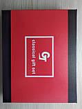 Подарочный набор фляга / лейка / стопка / нож (Кожа), фото 3
