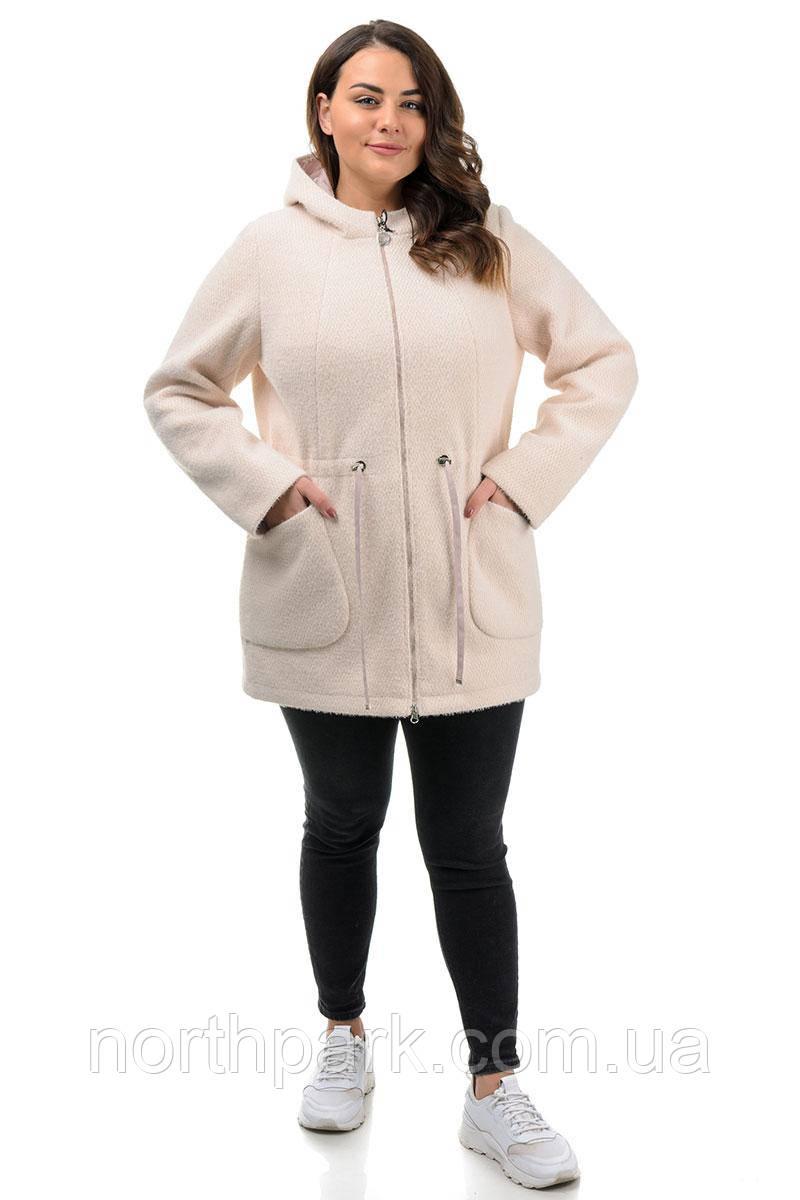 Куртка Valleo 00165 бежевая 50-56