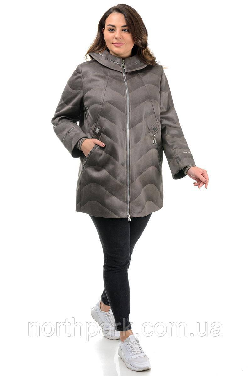 Куртка Valleo 00167 серая 50-62