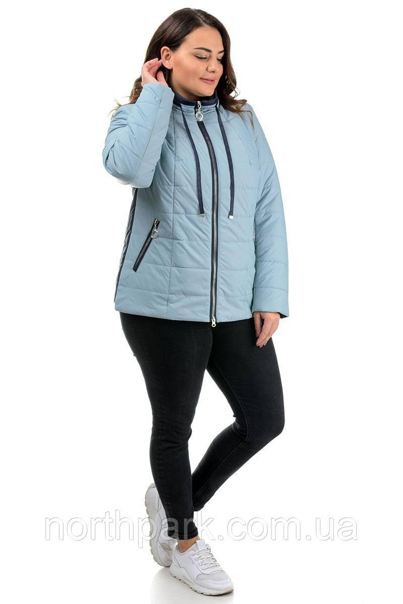 Куртка Valleo 00171 голубая 50-58