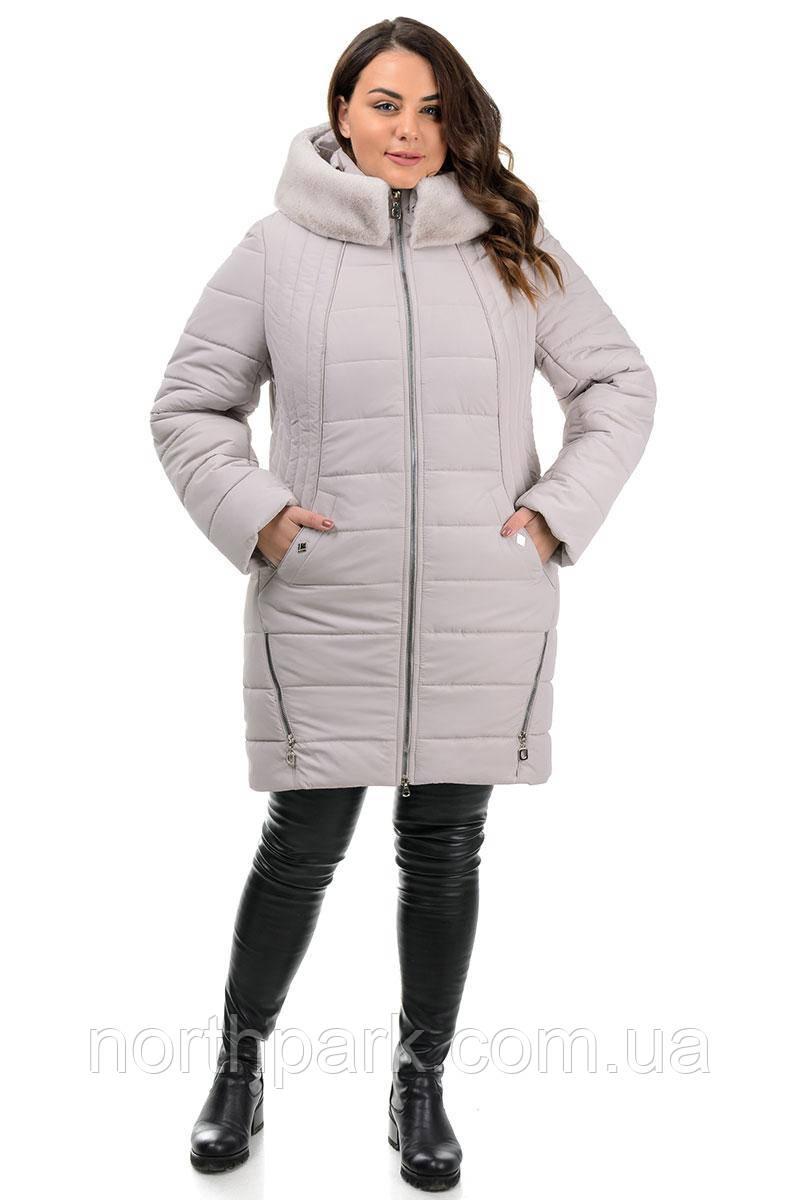 Куртка Valleo 00176 бежевая 50-62