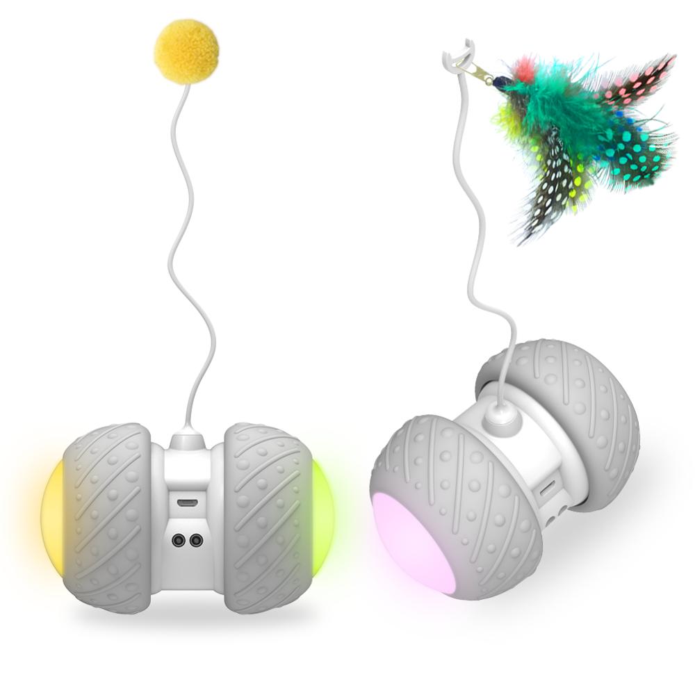 Интерактивная умная убегающая смарт-игрушка для собак и кошек