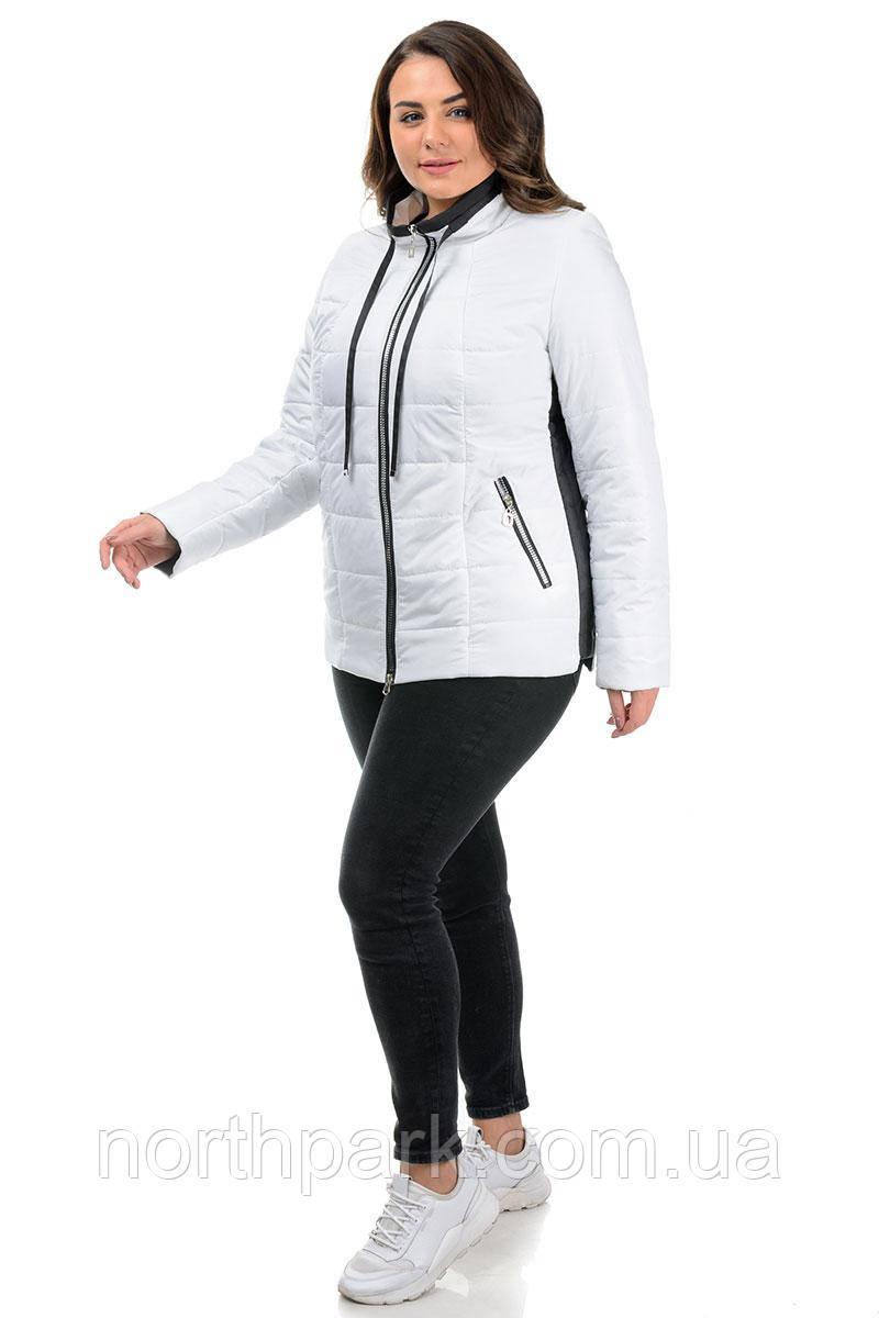 Куртка Valleo 00219 белая 50-58