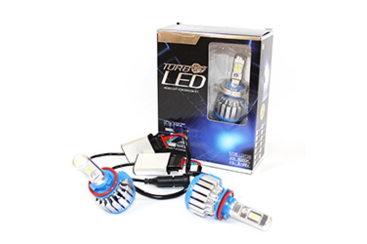 Автолампи LED T1 H11 TurboLed