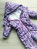 Комбинезон детский демисезонный ПАНДЫ НА РОЗОВОМ, фото 7