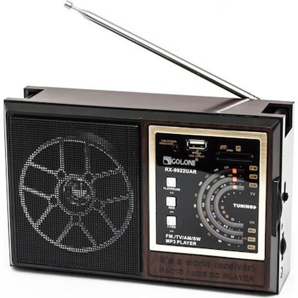 FM-Радиоприемник Golon RX-99UAR, MP3 проигрыватель, SD, USB поддержка
