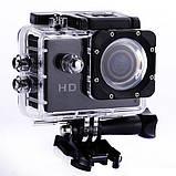 Экшн камера NEW FULL Waterproof Action Camera, фото 3