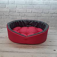 Мягкий лежак для собак и котов, Спальные места для домашних животных, Красный