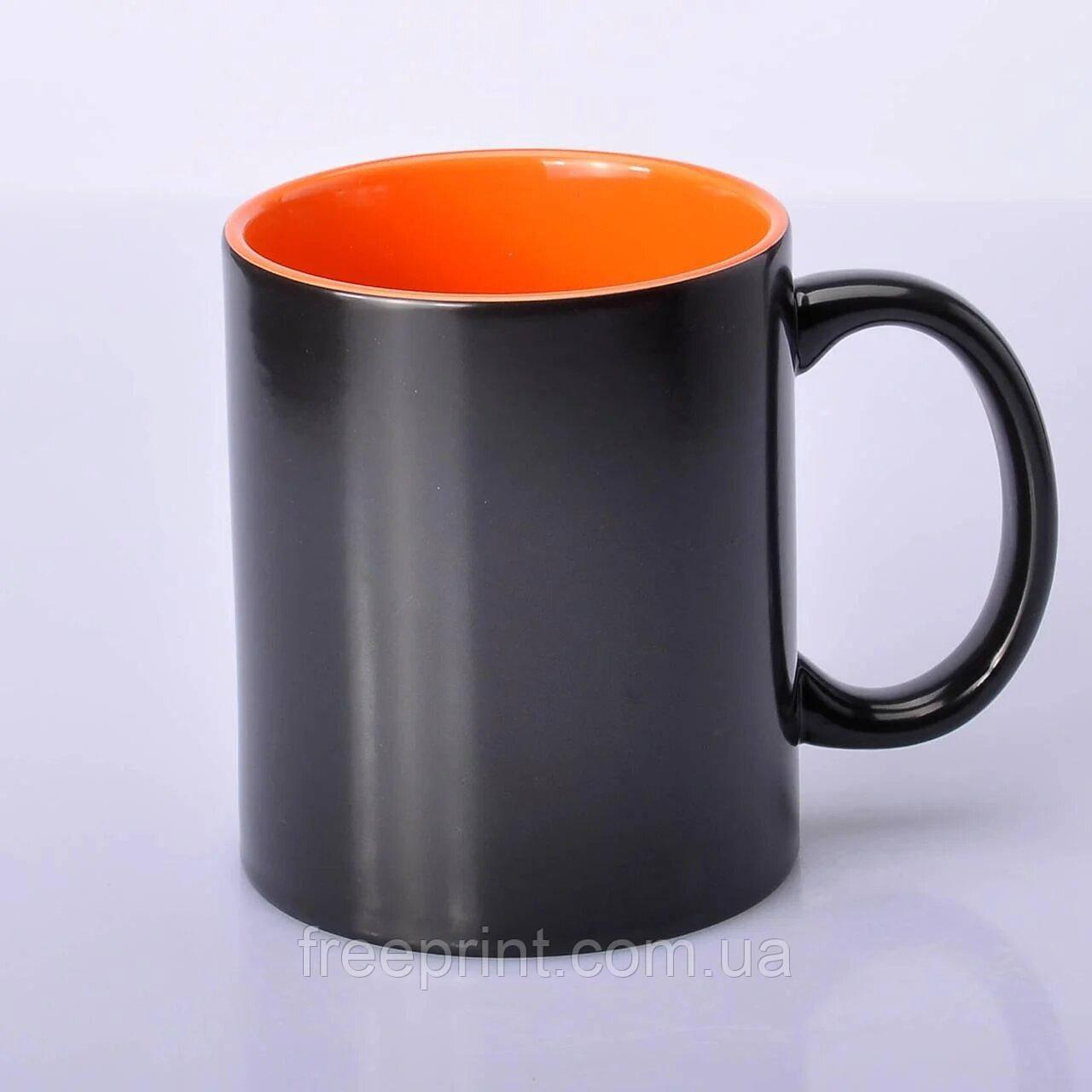 Друк на чашках-хамелеонах