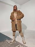 Шуба женская из искусственного меха, фото 8