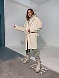 Шуба женская из искусственного меха, фото 7