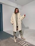 Шуба женская из искусственного меха, фото 5