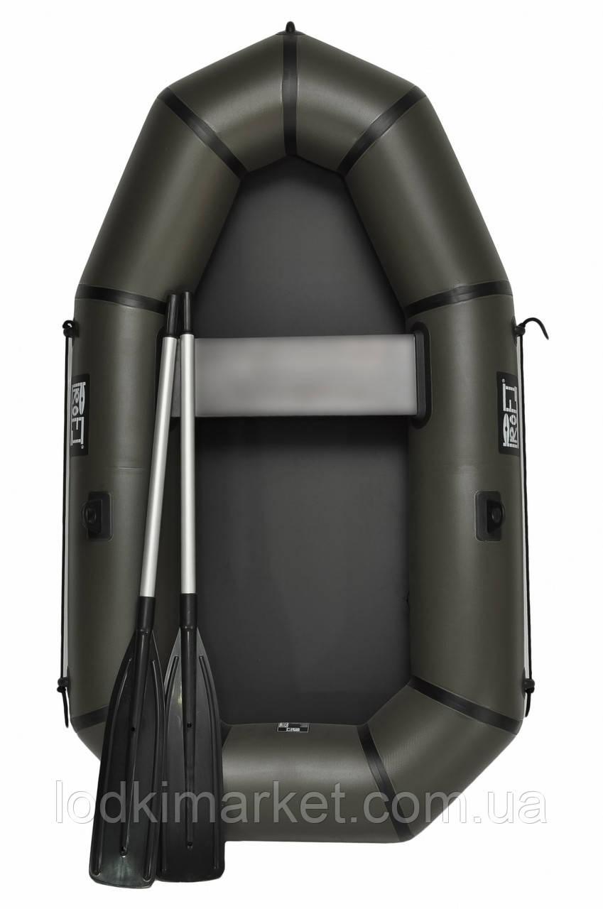 Лодка пвх надувная полутораместная PROFI L-220