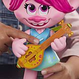 Интерактивная Тролль Поющая Поппи  Мировое турне Hasbro, фото 4