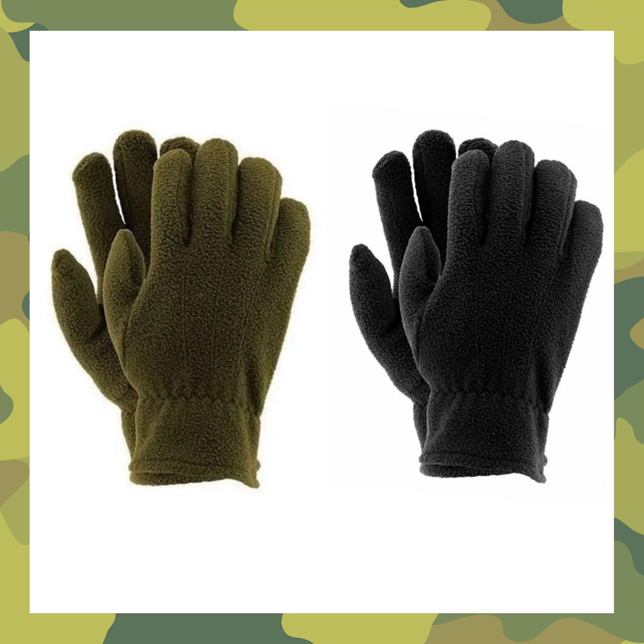 Зимние рукавицы флисовые REIS POLAREX