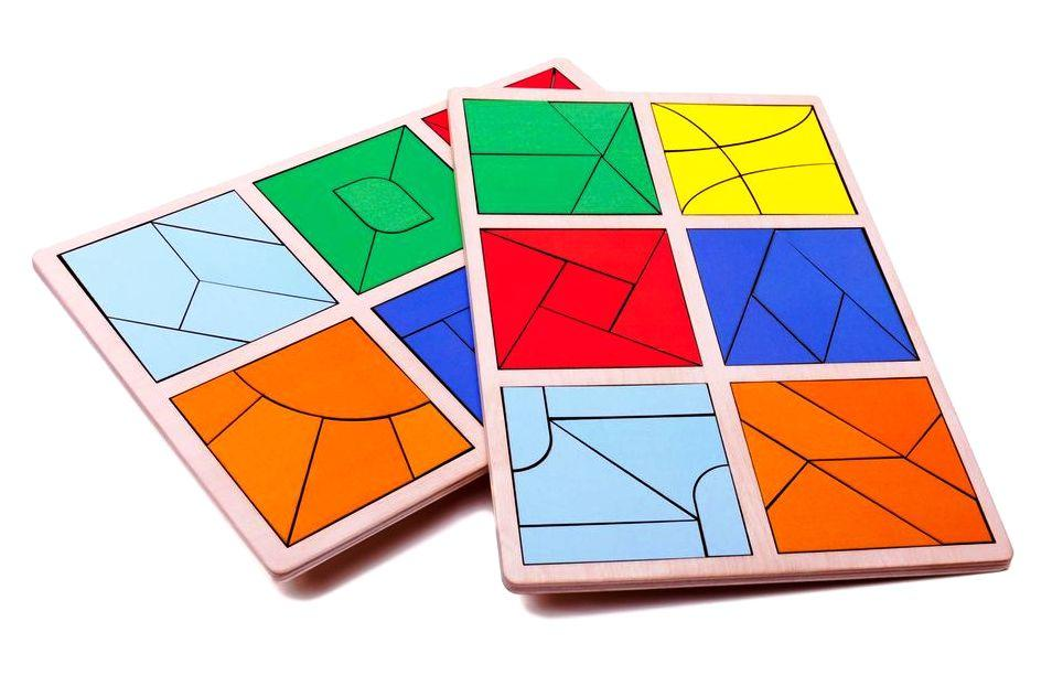 Квадраты Никитина Сложи квадрат 3 уровень, 12 квадратов. Розумний лис (90072)