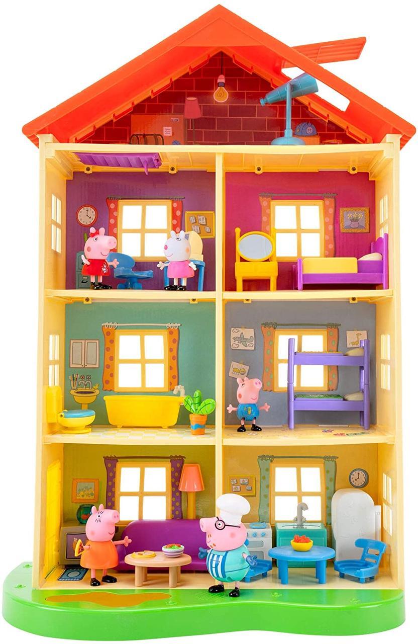 Большой музыкальный семейный домик свинки Пеппы - Peppa Pig Lights Sounds Family Home (95765)