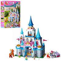 """Конструктор SLUBAN M38-B0610 """"Girls Dream"""": замок принцеси, фігурки, 815 дет."""