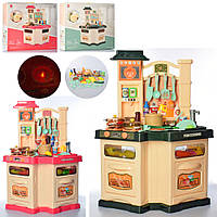 Кухня 848A-B духовка,плита,мийка(ллєт.вода),посуд,продукти,2види,муз.,світло,бат.,кор.,57-55-12,5см.
