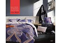 Комплект постільної білизни Євро Сатин Люкс 970 Tiare™