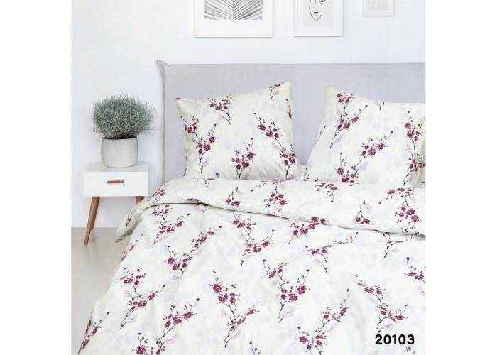 Комплект постельного белья Евро Вилюта Ранфорс 20103