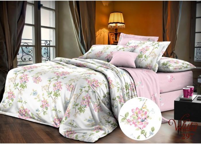 Комплект постельного белья Евро Вилюта Сатин Twill 297